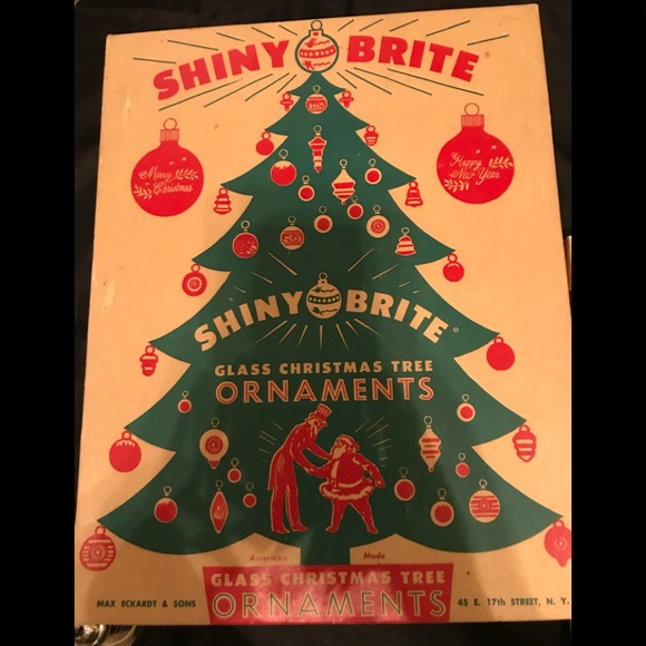 vintage shiny brite christmas ornaments - Vintage Shiny Brite Christmas Ornaments